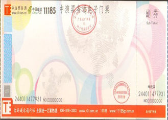 China Double Coated Anti Counterfeit Printing , Acrylic Adhesive Label Paper Offer Printing Design supplier