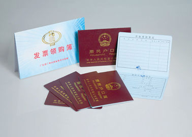 Moisture Proof Embossed Certificate Printing With Mechanical Pulp Pulping Type