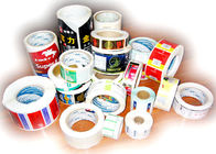 China Thermal Printing Food Label Stickers With Glossy Varnishing Surface Finishing factory