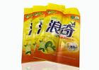 China Durable PET 1.28KG Washing Powder 3 Side Seal Pouch With 2 Hole Handles factory
