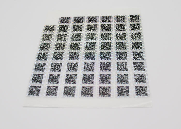Anti - Counterfeiting Laser Sticker Paper Heat Sensitive
