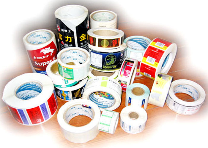 Thermal Printing Food Label Stickers With Glossy Varnishing Surface