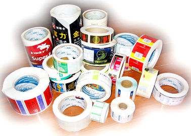 China Thermal Printing Food Label Stickers With Glossy Varnishing Surface Finishing distributor